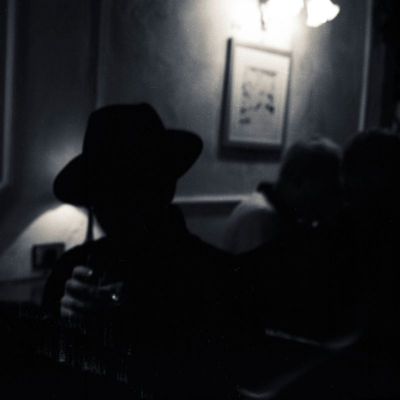 whiskey and hat